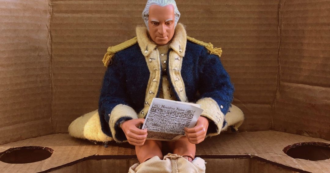 Did George Washington Poop With Friends?