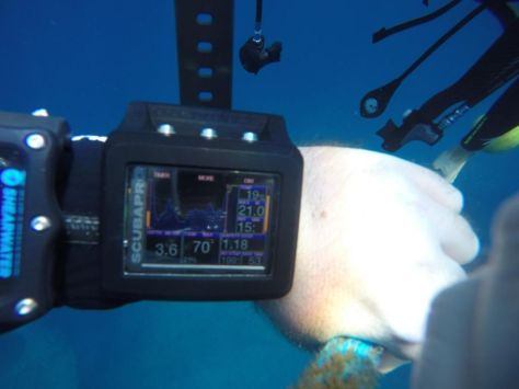 G2 sous l'eau