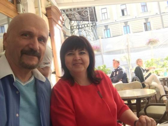 Лариса Плотницкая и Михаил Бондарев