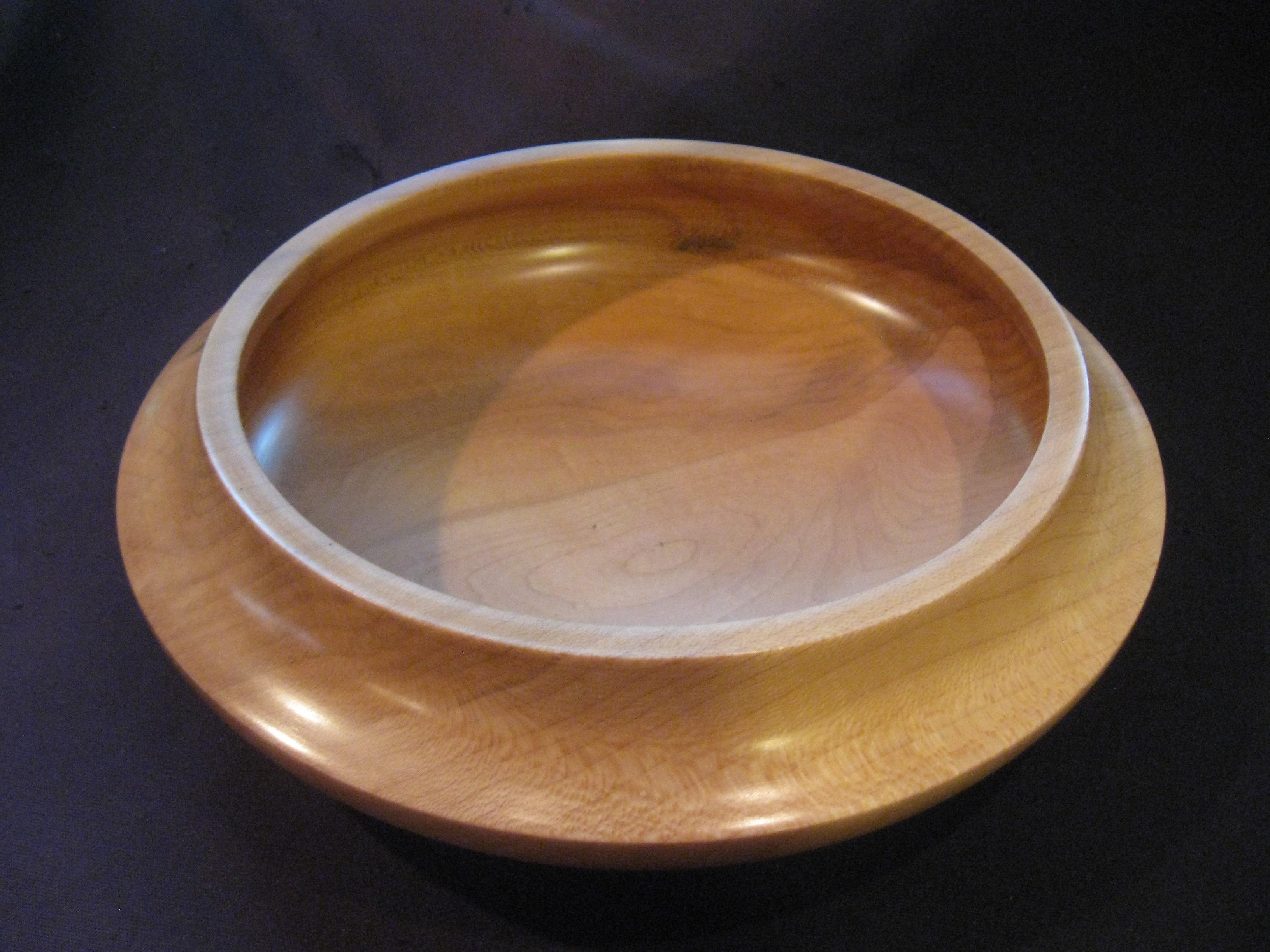 Silver maple bowl 1