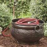 Copper Finish All Weather Hose Pot Plowhearth