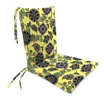 Sale Polyester Classic Rocking Chair Cushions With Ties Seat 21 Front 17 Back X 19 X 2 Back 16 X 20 X 2 Pine Filigree Plowhearth