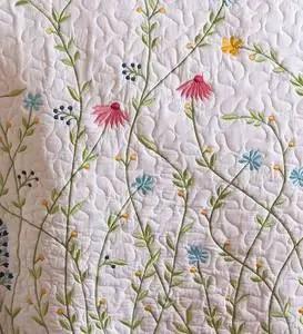 king emeline floral quilt set
