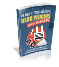 Most Effective and Useful Blog Widgets and Plugins cover