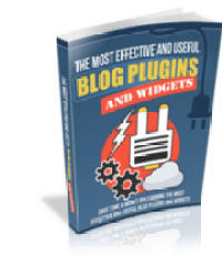 Most Effective and Useful Blog Widgets and Plugins