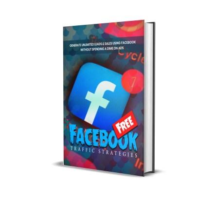 Facebook free traffic PLR 3d cover