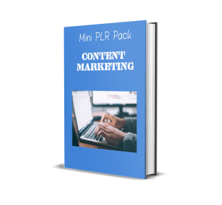 content marketing mini PLR Pack