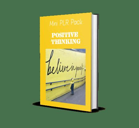 Positive Thinking PLR Mini Pack
