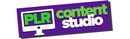 PLR Content Studio Logo
