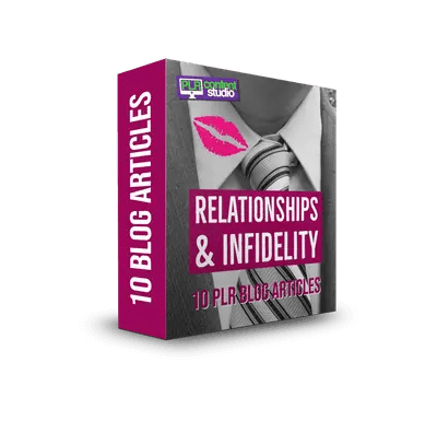 Relationships & Infidelity PLR Article Pack$7.99
