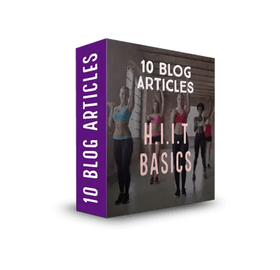 HIIT Basics PLR Article Pack$7.99