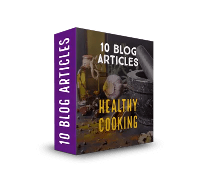 Healthy Eating & Cooking PLR Article Pack$7.99