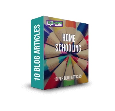 Home Schooling PLR Article Pack