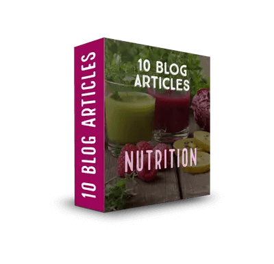 Nutrition PLR Article Pack 1$7.99
