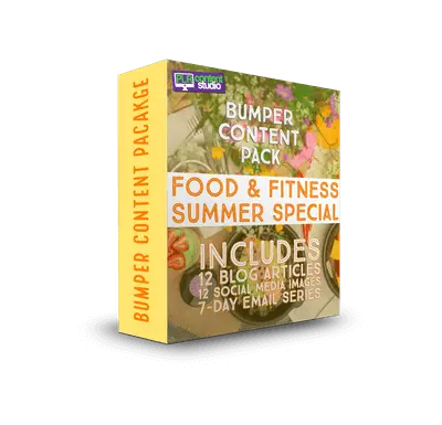 Food & Fitness – Summer Special PLR Content Pack$17.99