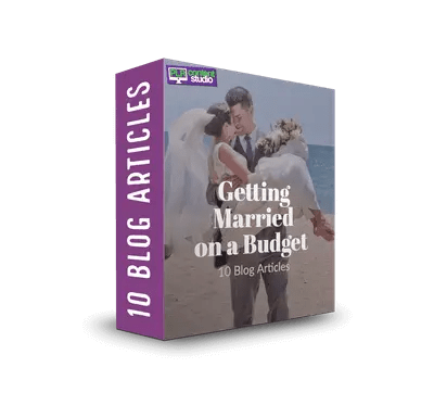 Getting Married on a Budget PLR Article Pack$7.99