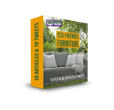 Eco-Friendly Furniture PLR Articles Pack$9.99