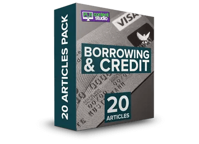 borrowing-credit-plr-articles