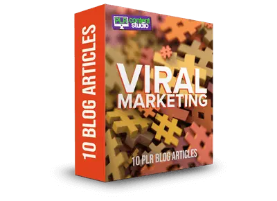 Viral Marketing PLR Articles Pack