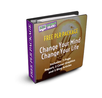 Change Your Mind, Change Your Life PLR PackageFREE
