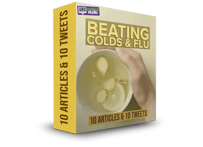 beating-colds-flu-plr-articles package