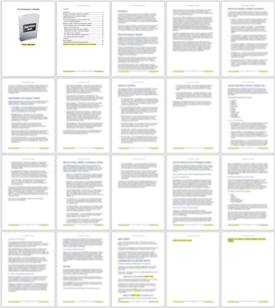 Ketogenic-PLR-eBook-screenshot-1