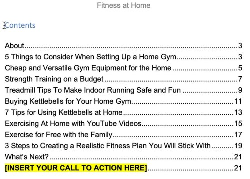 fitness-home-ebook-contents