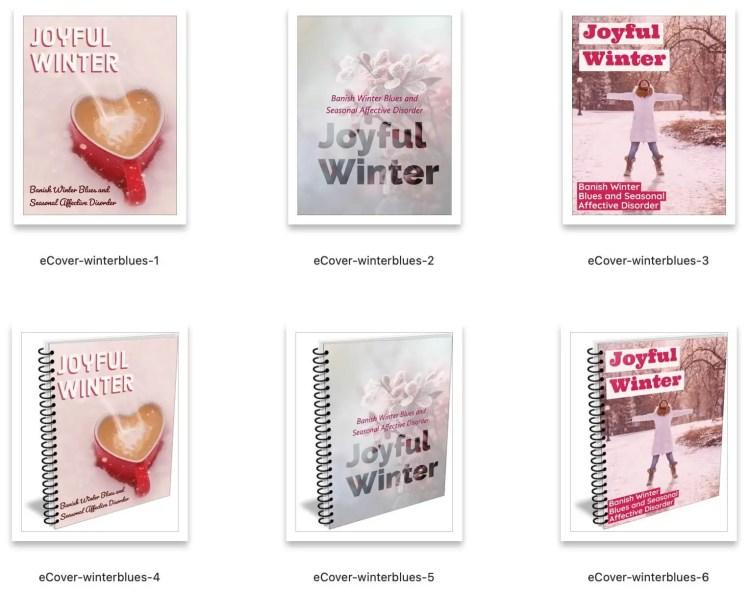 winter-depression-plr-ebook-covers
