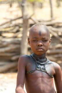 Himba, ethnic, portrait, child, Namibia