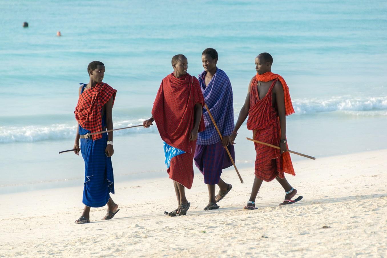 Zanzibar, Africa, masai