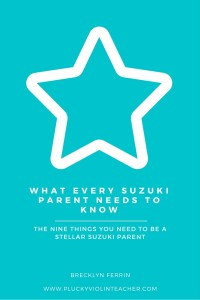 Free Parent Education Resource for Suzuki Teachers