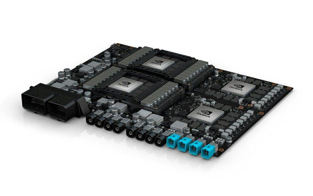 NVIDIA presenta su nuevo cerebro para coches autónomos de nivel 5