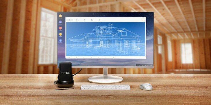 El DeX Station de Samsung permitirá convertir el smartphone en un ordenador con Linux
