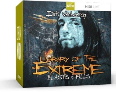 Toontrack Library of the Extreme – Blasts & Fills - Expansion Packs