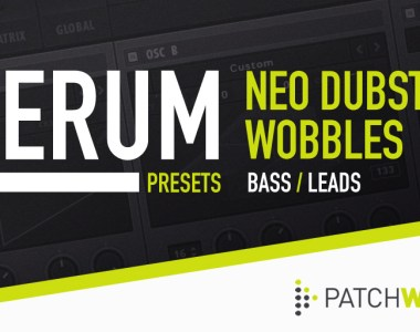 Loopmasters Neo Dubstep Wobbles - Serum Presets - Soft Synth Presets