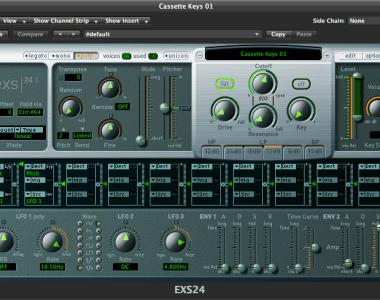 THEPHONOLOOP Cassette Keys.01 for Logic - Virtual Instrument