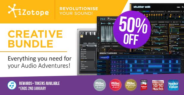 620x320 izotope creative bundle 50 pluginboutique