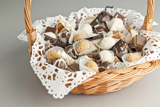 give a gift basket