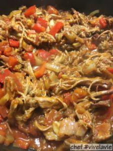 Pulled pork macaroni