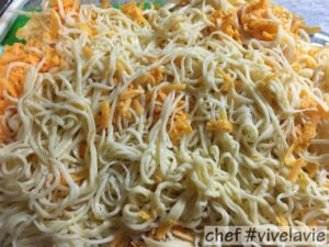 Pulled spaghetti