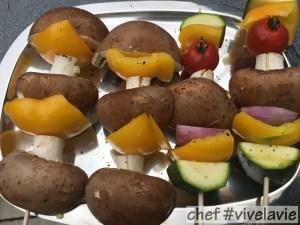 vegetarische spies