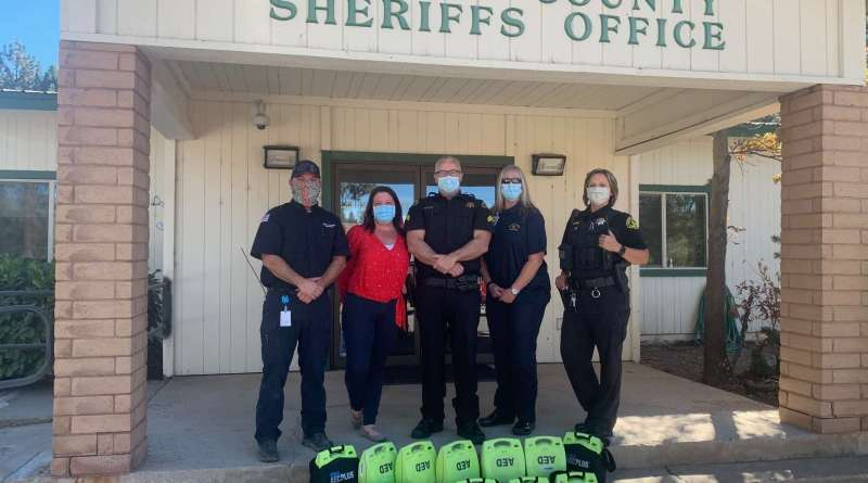 All Plumas sheriff's vehicles to be equipped with AEDs