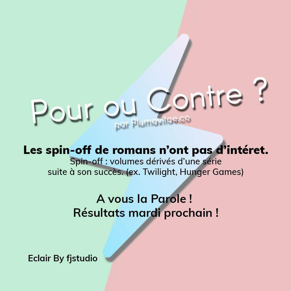 poc-debat-spin-off-roman-critique-sondage