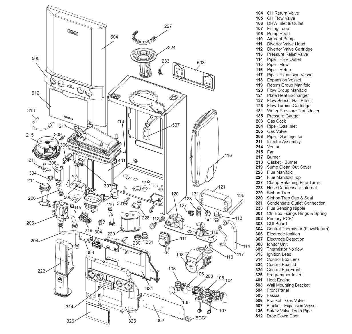 Boiler Manuals Ideal Logic Combi 30