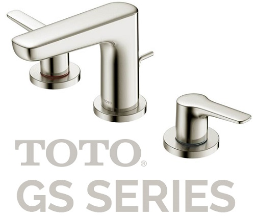 toto gs series 3-hole roman tub faucet