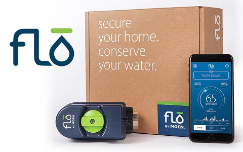 moen flo smart water monitoring with smartphone app