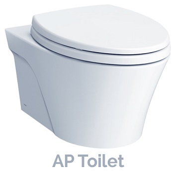 new TOTO AP wall-hung toilet model