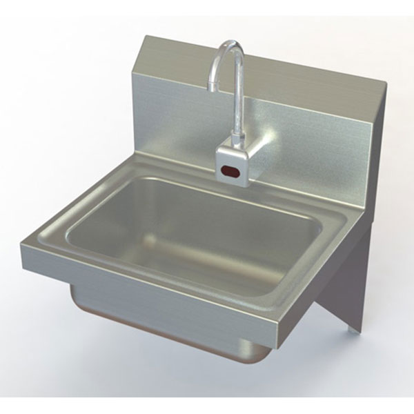 commercial sensor operated hand wash sinks