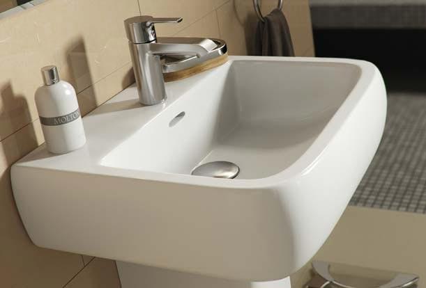 Barclay Porcelain Regular And Corner Pedestal Sinks
