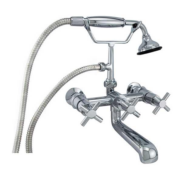 elegant wallmount leg tub faucets